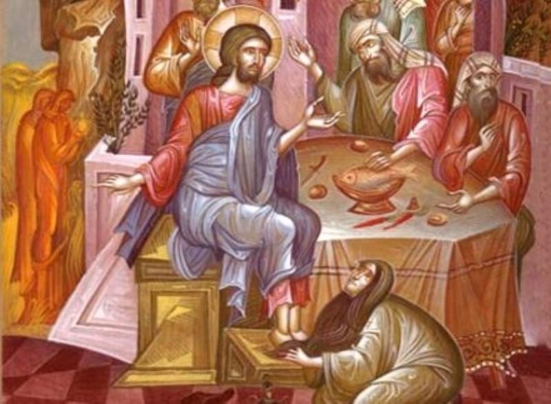 4 Απριλίου: Μεγάλη Τετάρτη – Η προσφορά μύρου πόρνης γυναικός - Το Ιερό Ευχέλαιο - Όλοι οι συμβολισμοί της μέρας